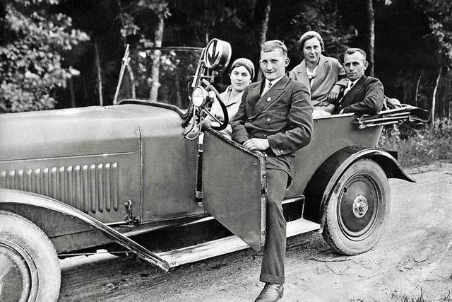 Das Freiburger Autohaus Ehret feiert 100. Geburtstag