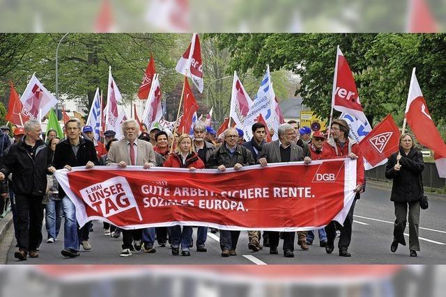 Ziel: Gute Arbeit, sichere Renten, soziales Europa