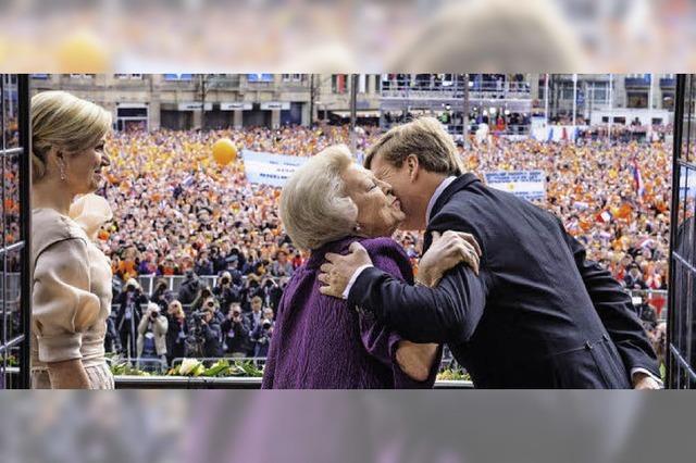 Willem-Alexander ist neuer König mit neuem Stil