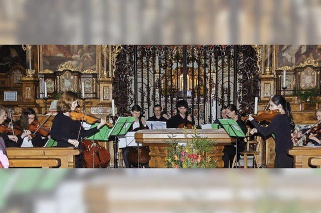 Virtuoses Spiel im Kloster