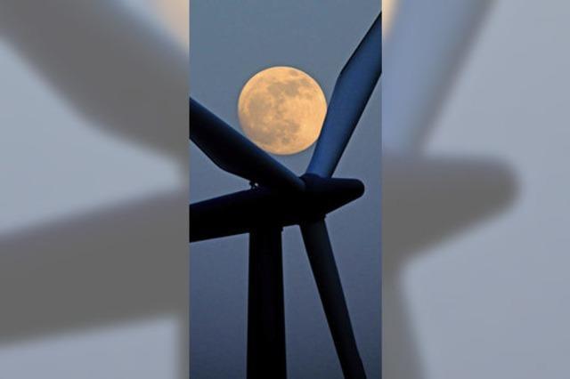 Fünf denkbare Windkraftstandorte