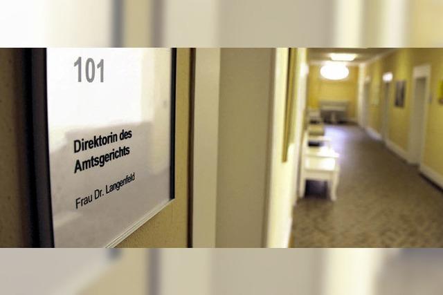 Amtsgericht in Frauenhand