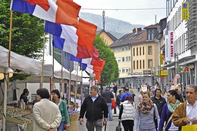 Erstmals findet in Bad Säckingen ein Französischer Markt statt