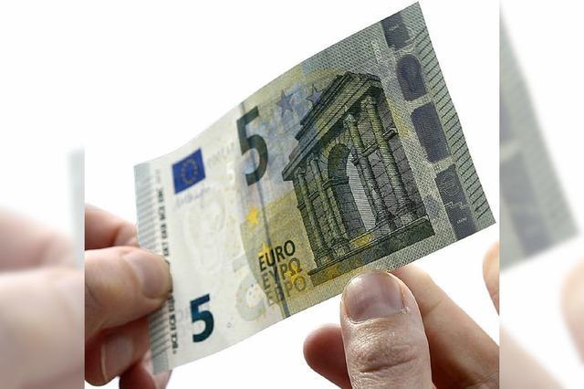 Neue Banknote in Umlauf
