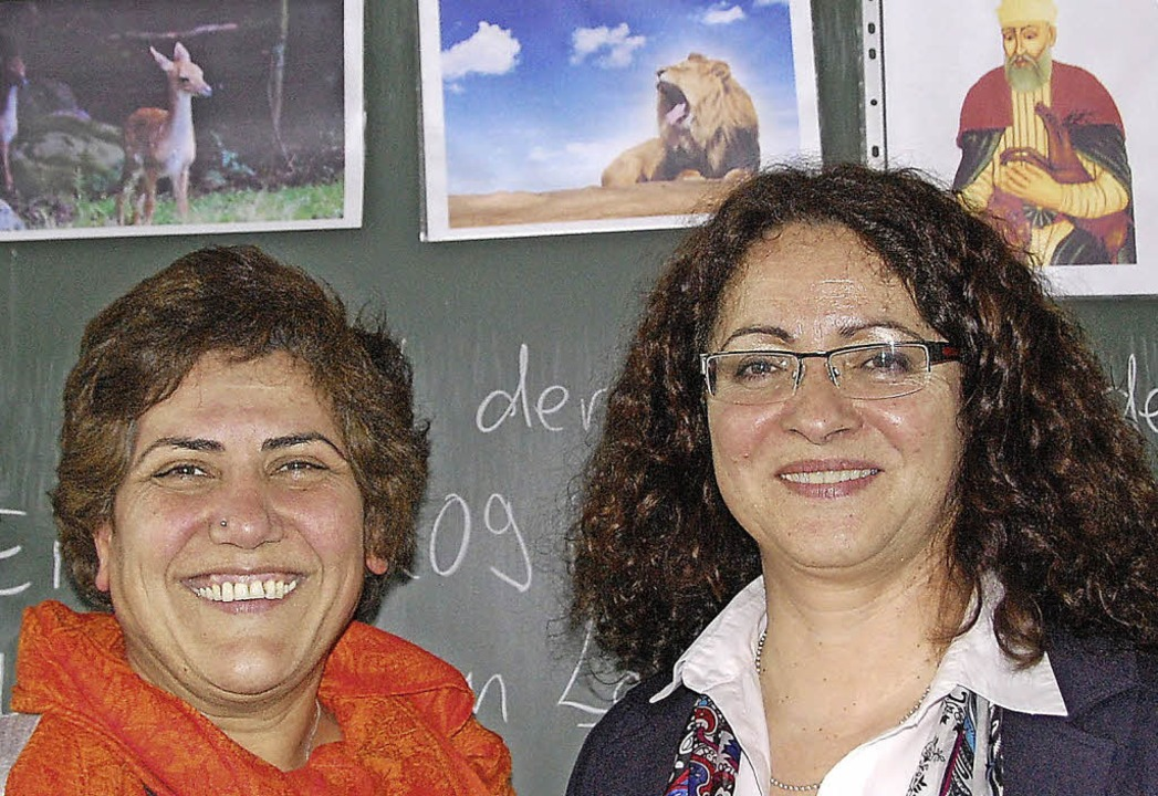 Die Vorsitzende der alevitischen Gemei... Religionslehrerin Suzan Firat-Steppan    Foto: Hannes Lauber