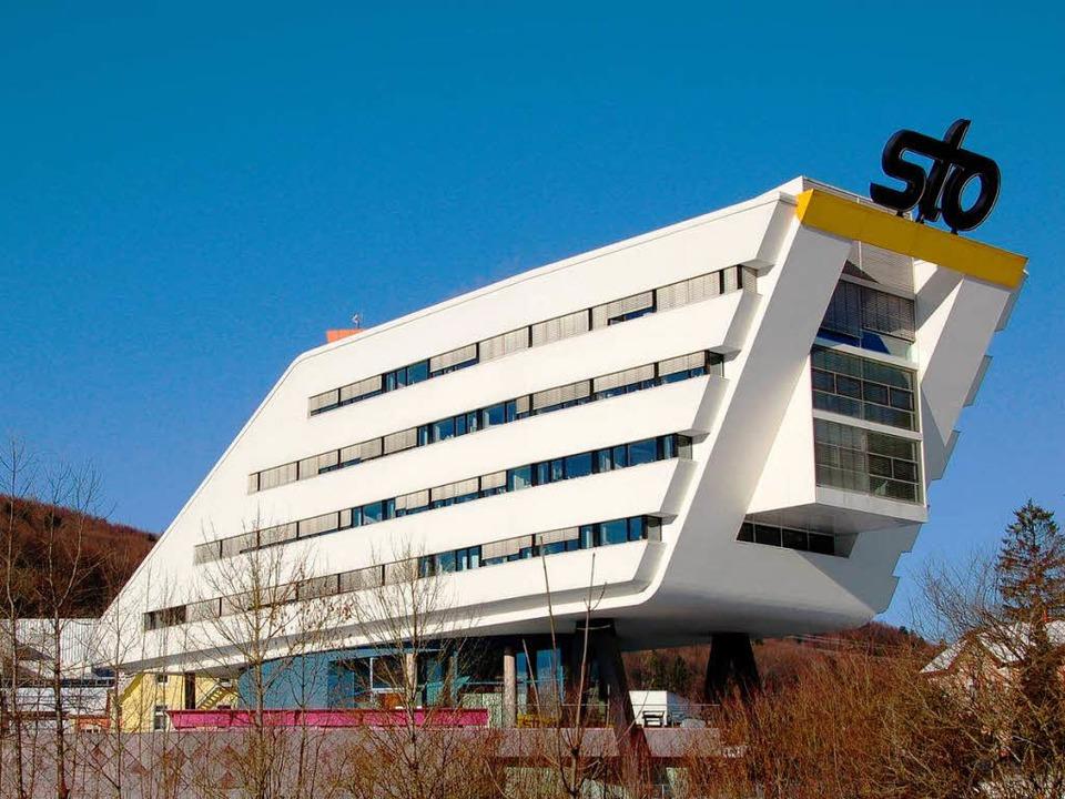 Die Sto-Zentrale in Stühlingen-Weizen  | Foto: MARTIN WUNDERLE