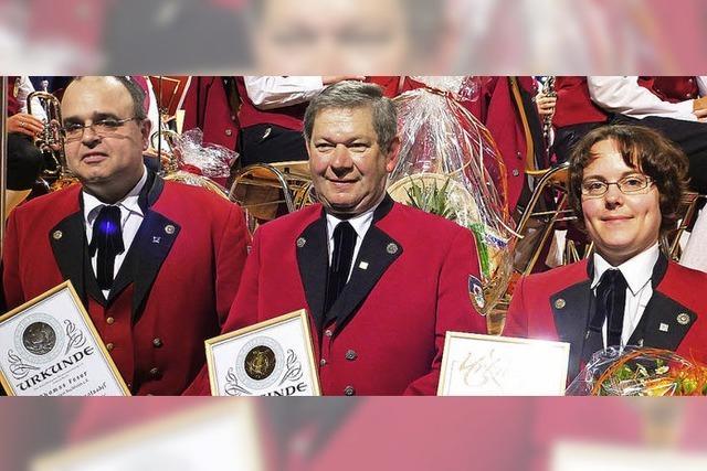 50 Jahre in der Musikkapelle aktiv