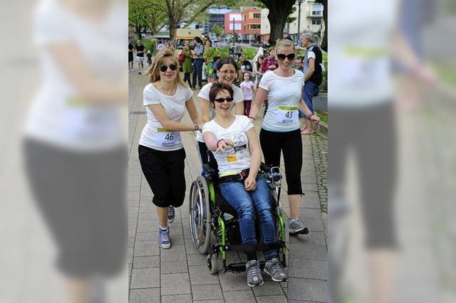 Beim Lebenshilfe-Lauf gingen 200 Menschen an den Start