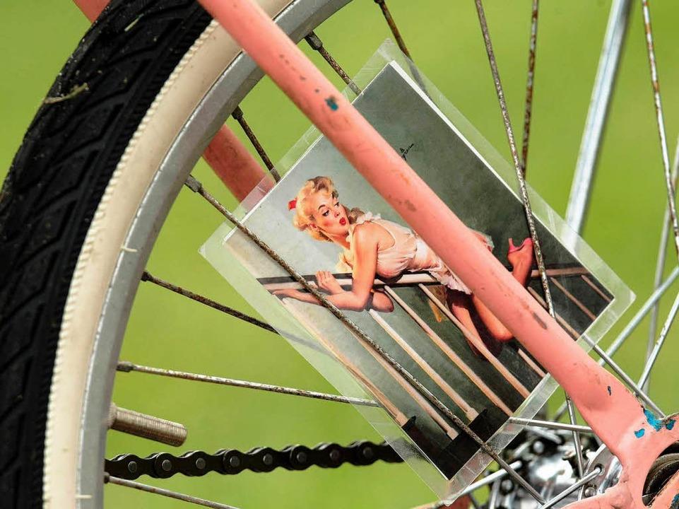 Die Räder werden standesgemäß dekoriert.  | Foto: dpa