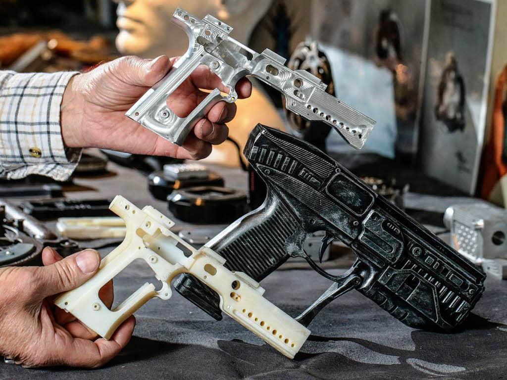 3d Drucker Pistole