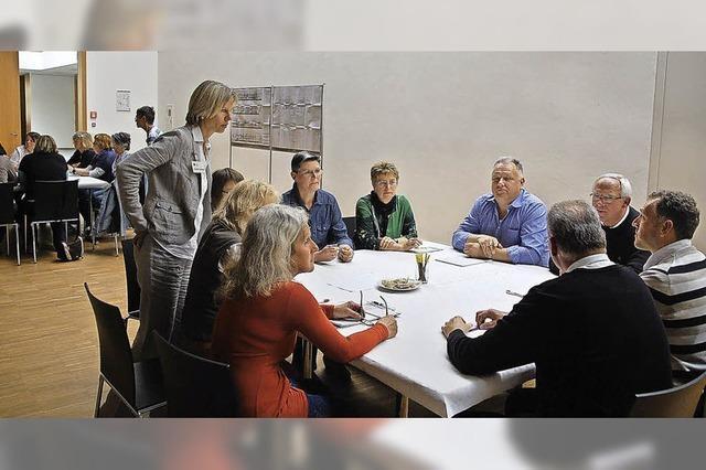 Viele Ideen für das Familienzentrum