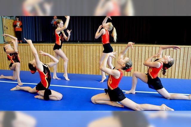 Akrobatik und Spaß an Bewegung