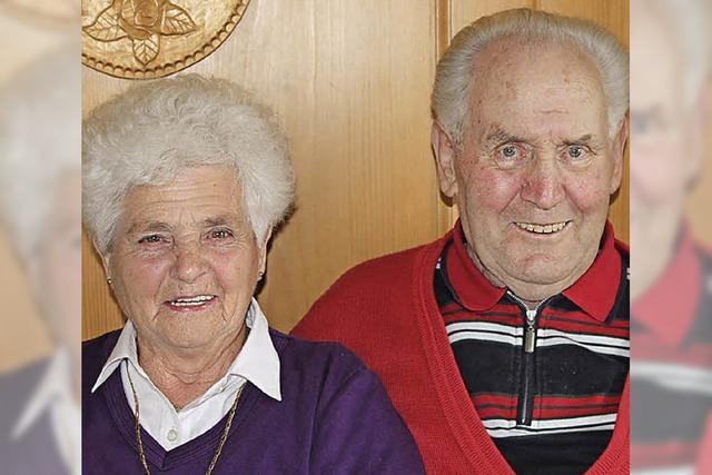 60 Jahre zusammen gelacht