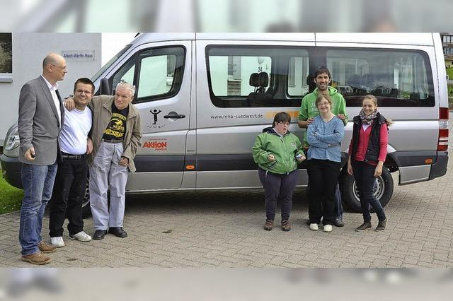 Neuer Bus für die Wohngruppe