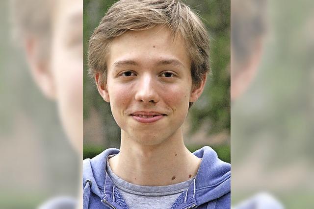 Der junge Komponist dirigiert selbst