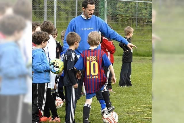 Lektionen für kleine Kicker