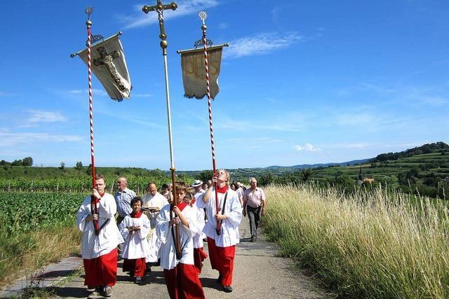 Kirche pflegt alte Tradition im Rebland