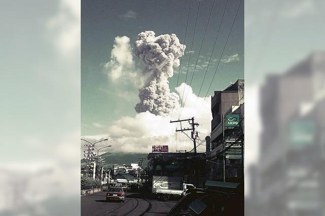 Vulkanexplosion tötet drei Deutsche