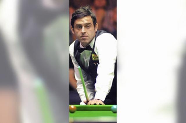O'Sullivan: Auch wegen Geldproblemen wieder Snooker-Weltmeister