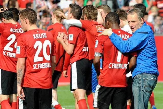SC Freiburg: Der Sturm der vergangenen Wochen legt sich