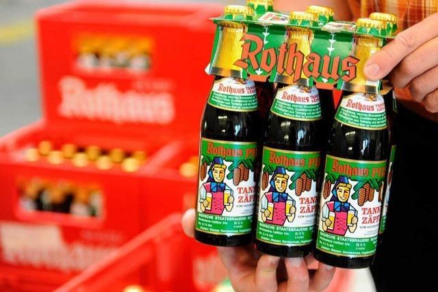 Rothaus braut weniger Bier – Ausmaß unklar