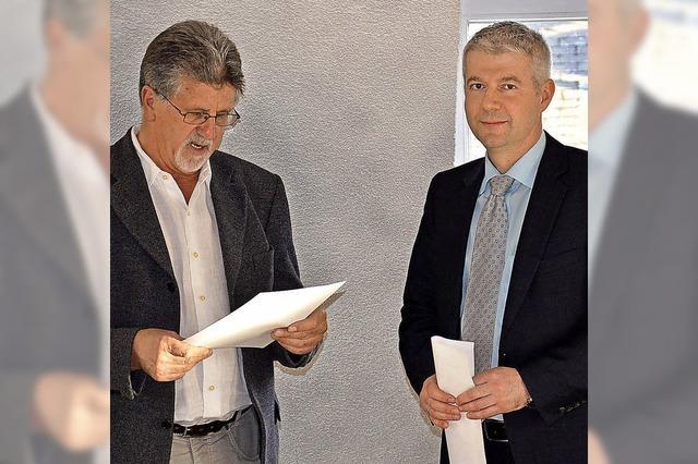 Bürgermeister Kreutz ist jetzt vereidigt