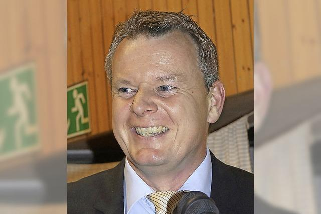 Dirk Blens ist jetzt offiziell Bürgermeister