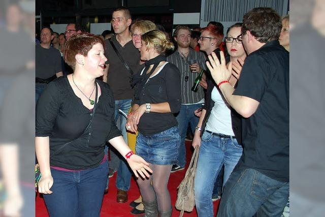 Partyfeeling in lauer Frühlingsnacht