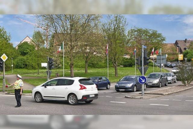 Franzosen füllen Straßen