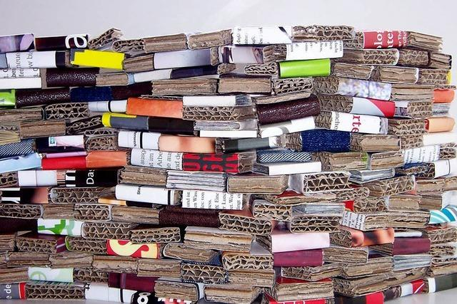 Buch-Förderer mit eigenen Projekten
