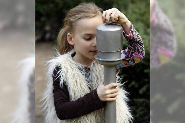 Duftorgel im Stadtpark