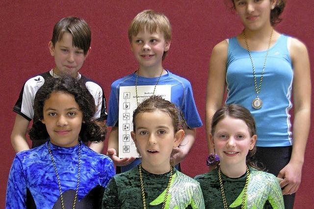 Sieben Medaillen für Bezirk