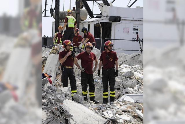 Unglück: Schiff rammt Kontrollturm im Hafen von Genua
