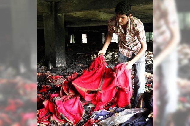 Erneut Fabrikunglück: Tote bei Feuer in Dhaka
