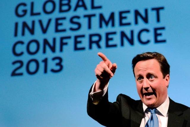 Cameron will Zuwanderer aus der EU abschrecken