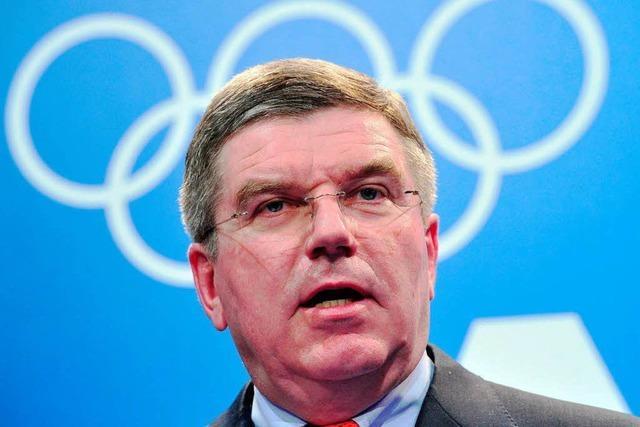Thomas Bach will IOC-Präsident werden