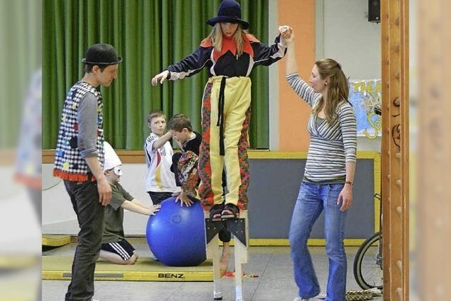 Fantasiereise in die bunte Zirkuswelt