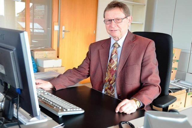 BZ-Interview mit Heinz Trogus, dem scheidenden Geschäftsführer der Naturgarten Kaiserstuhl GmbH