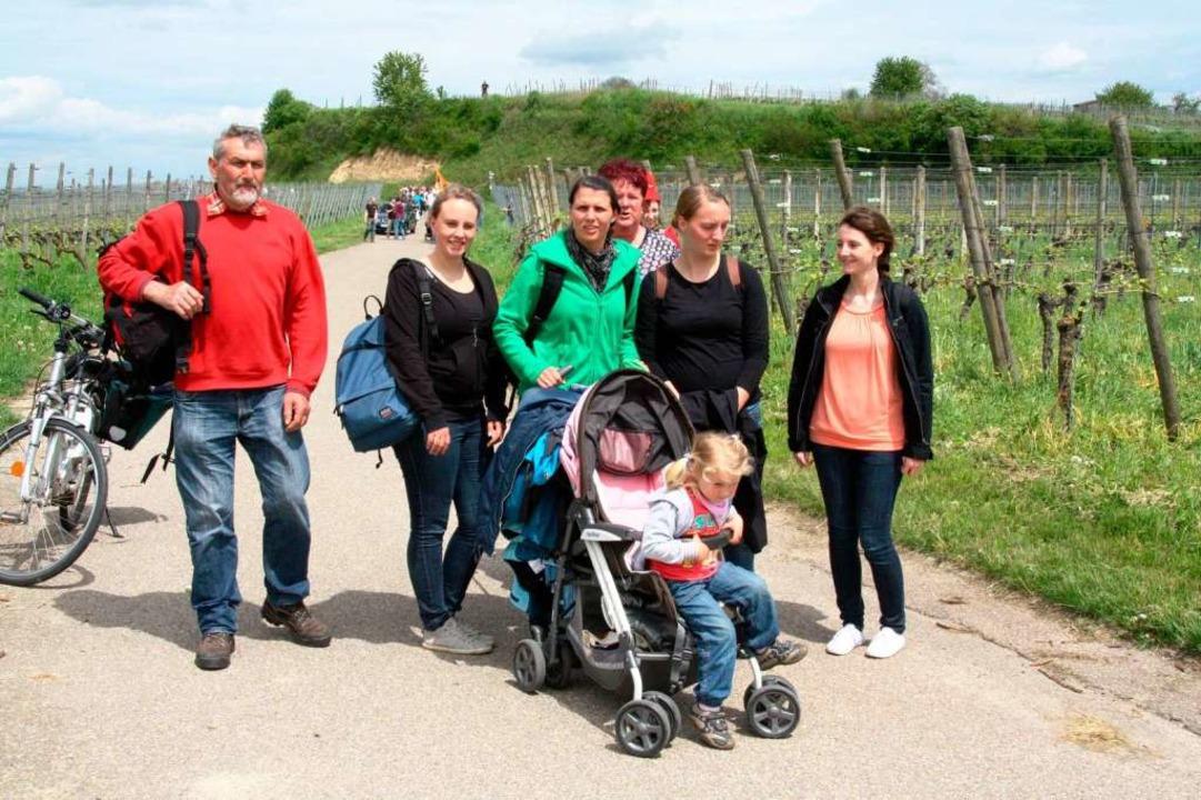Diese Familie ist von Löffingen an den Tuniberg gekommen.  | Foto: Silvia Faller