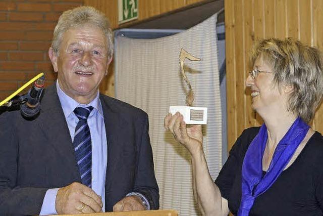 Ehrung für Ingrid Konrad für 50 Jahre im Verein
