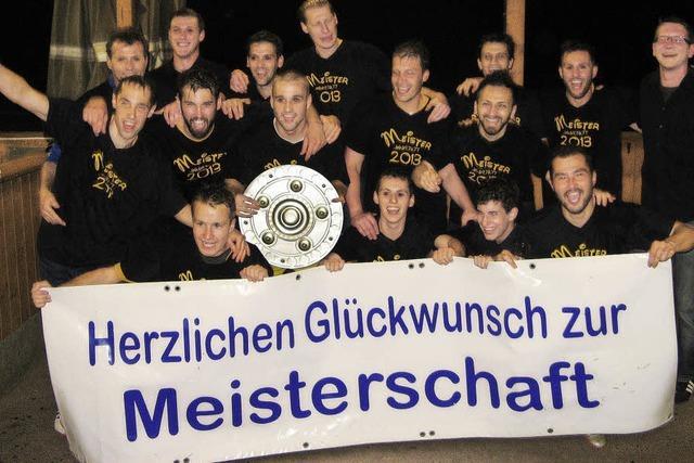Vörstettens Fußballer feiern Aufstieg