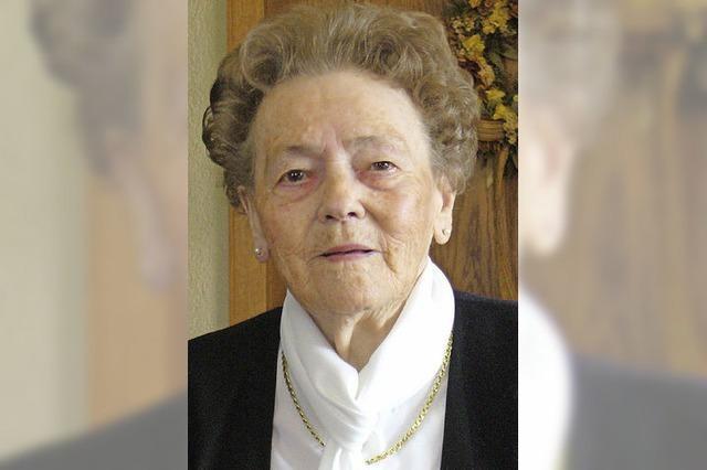 Die älteste Bürgerin von Bernau feiert