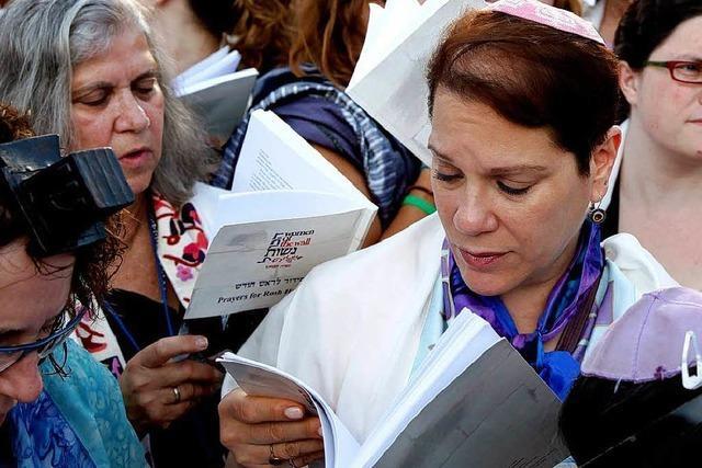 Israelische Frauen wollen religiöse Gleichberechtigung