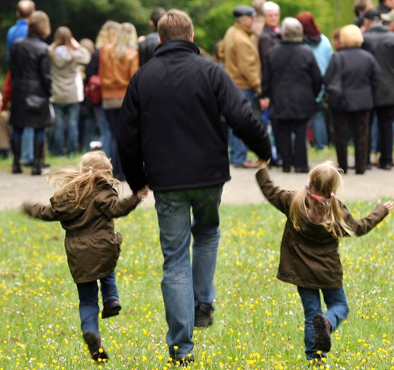 Wenn die Väter eine innige Beziehung z... Sorgerecht früher aufgedrängt haben.   | Foto: dpa