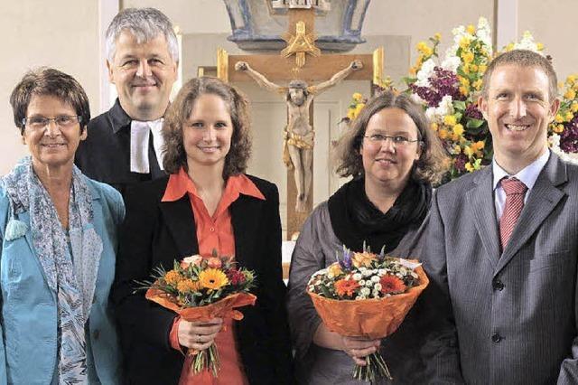 Den Kirchenchor weit vorangebracht