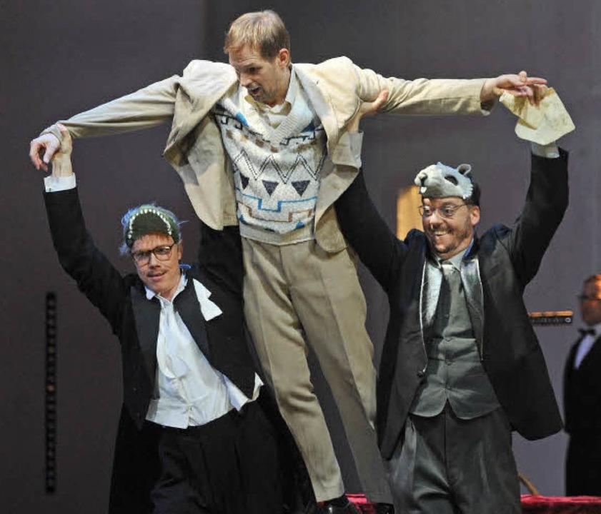 Bryan Boyce, Dmitry Golovnin und Lars Møller   | Foto: Hans Jörg Michel