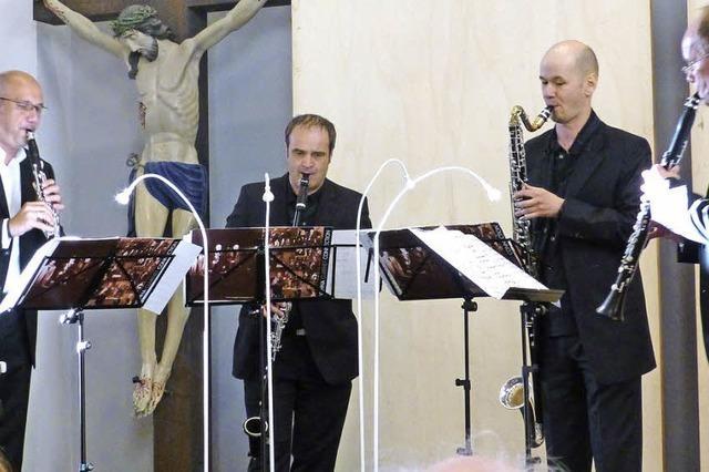 Ein Quartett, das ein Orchester ersetzt