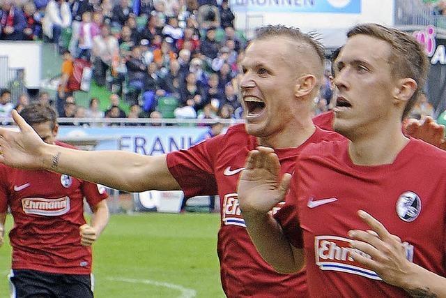 Baumanns Sprung ins Glück: Wie der SC Freiburg in Fürth gewann