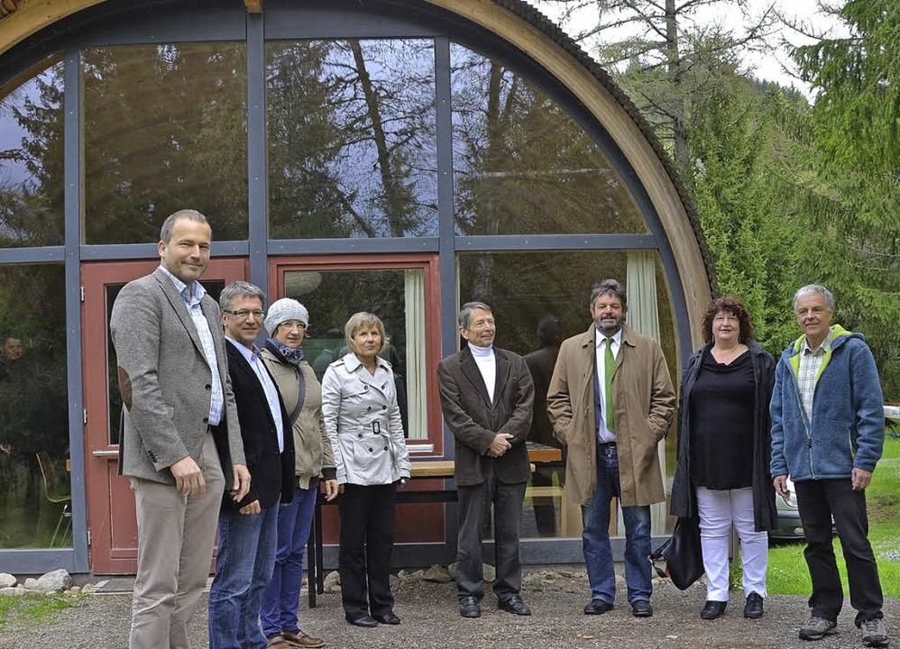 Diskutieren über Naturparkdorf  | Foto: Ralf Morys