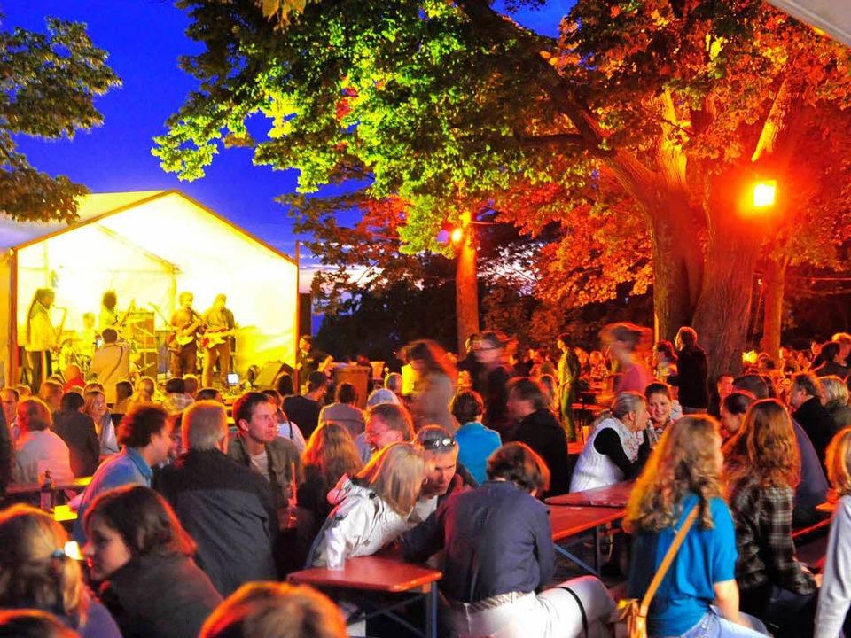 Keine Festkultur auf dem Kanonenplatz: Das Schlossbergfest fällt auch 2013 aus.   | Foto: Archivbild: Thomas Kunz